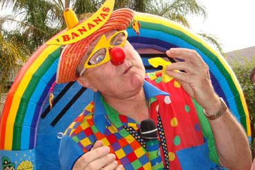 Bananas the Clown Party Entertainer