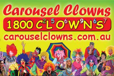 Carousel Clowns Party Entertainers